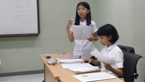 Elementary Students Shine at Korea International Debate Tournament