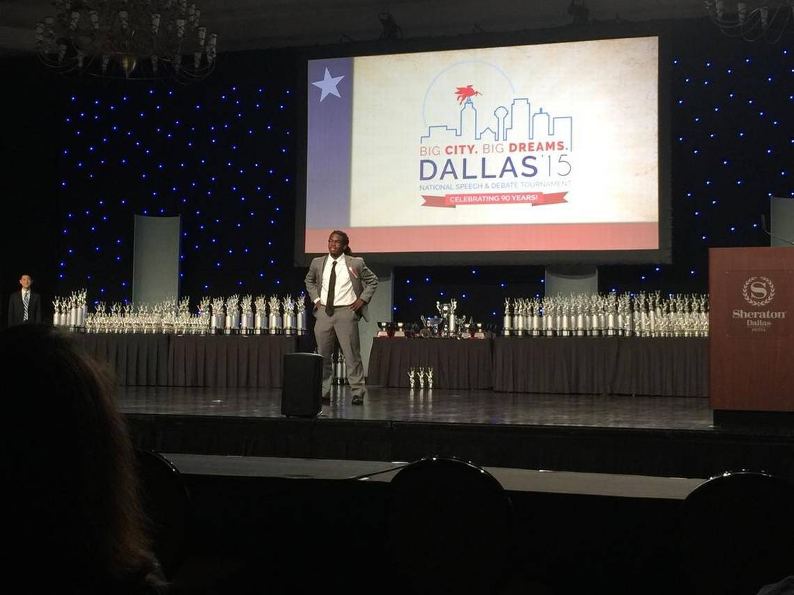 Nation's Top Student Speech And Debate Competitors Ascend On The 'Big D' For Big Discussions And Debates About Key Issues Impacting Our Country